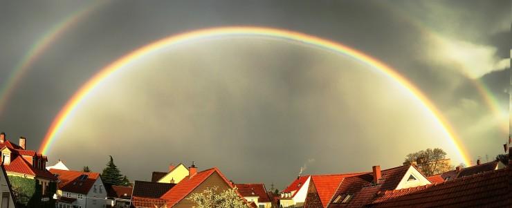 regenbogen Feudene